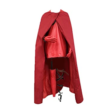 Dream2Reality - Disfraz de caperucita roja para cosplay para mujer ...
