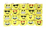 20 Bulk Fun Emoji Coin Purse/Treasure Bag