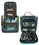 Best Hanging Travel Toiletry Bags - WAYFARER SUPPLY Hanging Toiletry Bag: Pack-it-flat Travel Kit Review