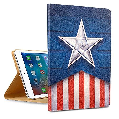 AiSMei Apple iPad Mini 4 Case,HD Painting Series Folio Case,