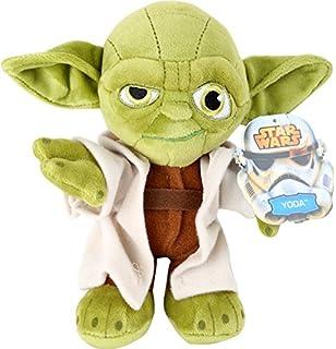 Bean Bags Star Wars 1500161 Yoda Saga Als Plüschschlüsselanhänger 8 Cm Stofftiere