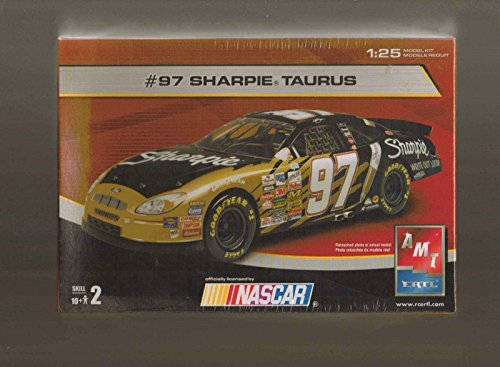 AMT 97 Taurus Kurt Busch Sharpie 1/25 KIT Nascar Model Car 1:25 Scale ()