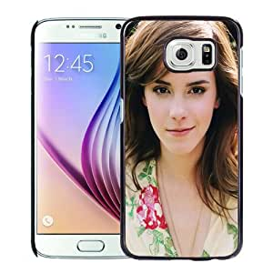 NEW DIY Unique Designed Samsung Galaxy S6 Phone Case For Emma Watson Sweet1 Phone Case Cover