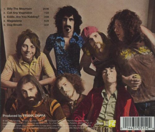 Just Another Band From L.A. by Zappa Records