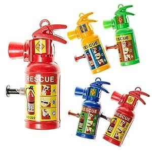 JuniorToys JT Extintor Jeringa de Agua Pequeño Serie 12 Pack ...
