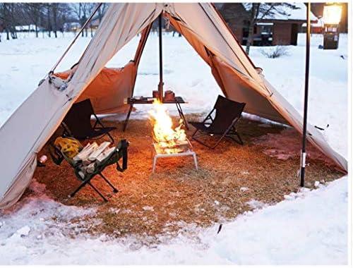 ホーム、アウトドアキャンプキャンプファイヤー薪薪薪薪屋内暖炉薪トートバッグコットングリーンに適した薪フレーム