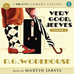 Very Good Jeeves, Volume 1 Audiobook