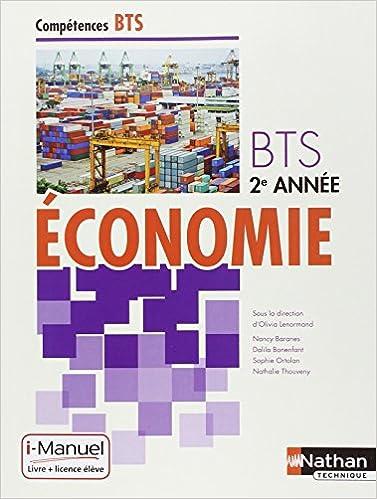 Livre gratuits Économie BTS 2e année pdf, epub