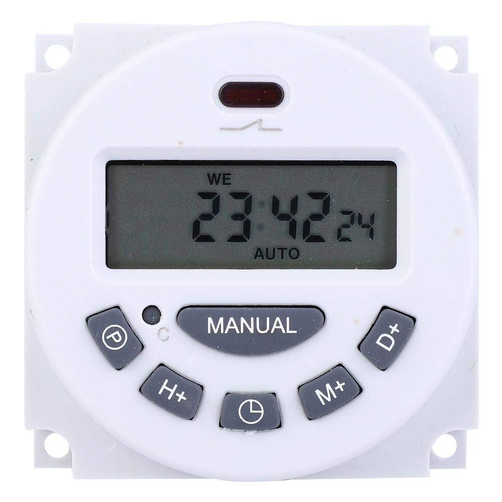 220V L701 Mini LCD Display Digital Timer Time Controller Timing Switch(220V 12V)