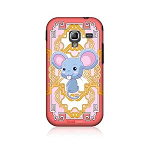 Rat Zodiac Animal Hard Back Case Cover For Samsung Galaxy Ace 2 I8160