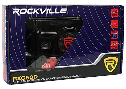 Rockville RXC50D 50 Farad 24V Surge Hybrid Ion Capacitor Voltage & Amerage Meter by Rockville (Image #3)