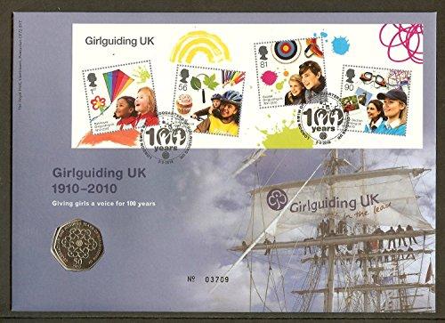 GB - 2010 Girlguiding UK Centenary Coin - Centenary Cover