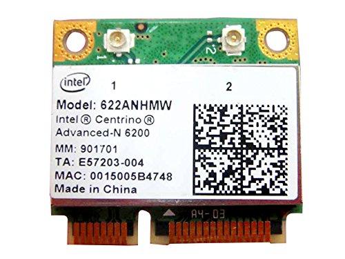 Intel Centrino Advanced-n 6200 622an_hmw Half Mini Pci-e Wireless Wlan Wifi Card