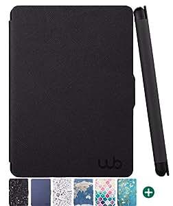 Capa Kindle Paperwhite WB® Estampas Exclusivas Auto Liga/Desliga - Ultra Leve Preta