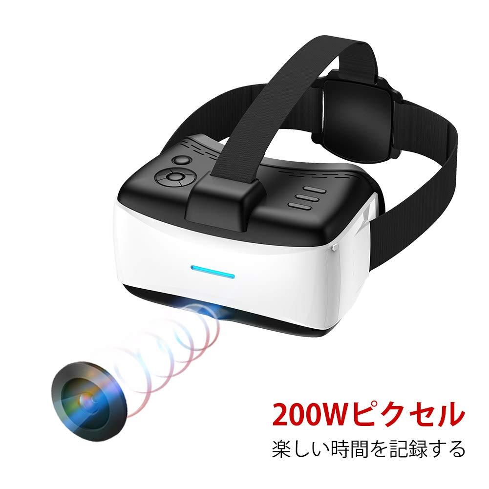 VRゴーグル 単体型VR ヘッドマウントディスプレイ VR all in one 一体型 3DVRメガネ 360度全景動画再生 バーチャルりアリテイ 解像度1920*1080 大画面で超3D映像効果 Nibriu Android 5.1 のミステム (MSVR903) product image
