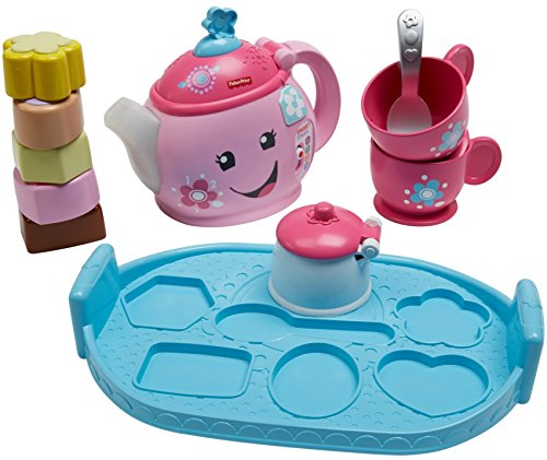 51QU2olfZiL - Fisher-Price Laugh & Learn Sweet Manners Tea Set