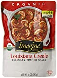 Imagine Culinary Simmer Sauce, Louisiana Creole, 10 Ounce (Pack of 6)