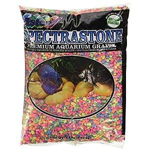 Spectrastone Permaglo Rainbow Aquarium Gravel for Freshwater Aquariums, 5-Pound Bag 116