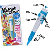Widget Writer –Blue Fidget Pen – The Fun of a Fidget Cube in One handy Pen – 7 Functions - Ideal for School or Office - ADHD, ADD, Anxiety, Autism, Attention & Stress Relief – Fidget Pen Focus Toys