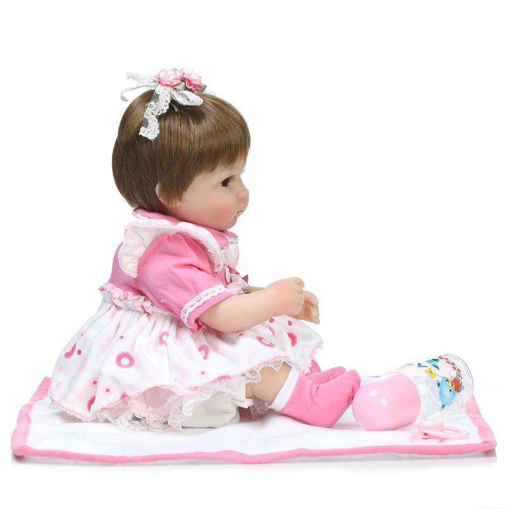 306293e7c736f3 ... P Prettyia Lebensechte Babypuppe aus Silikon