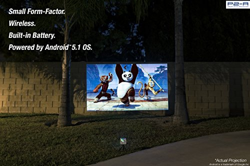 Aaxa P2 A Smart Portable Led Pico Projector