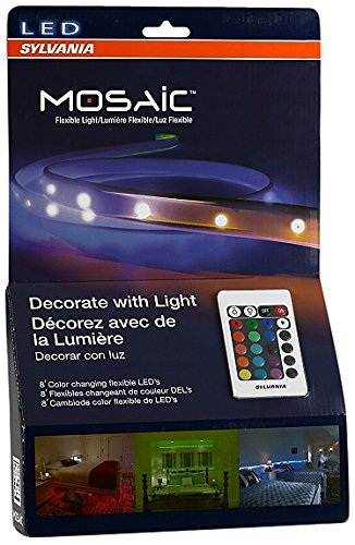 sylvania-led-rgbw-color-changing-strip-lights-rgbw-mosaic-flexible-starter-kit-with-remote-control-2