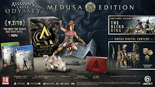 Assassins Creed Odyssey Medusa Edition Ps4 Amazon Co Uk Pc