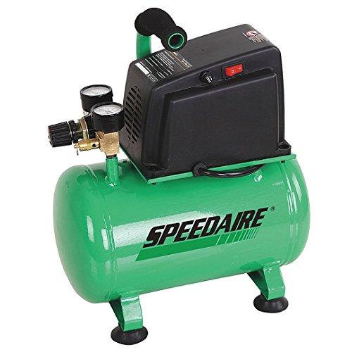 Speedaire Air Compressor, 0.33 HP, 120V, 100 psi