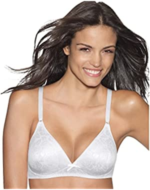 Hanes Lightly Lined Seamless Soft Cup, 34C-White