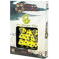 Q-workshop - Set de 10 dés - Légende des cinq anneaux - Dragon Clan - 5907699492299