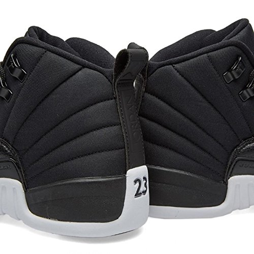 Jordan Nike Air 12 Retro Bg Zwart / Rood / Wit 153265-004 (maat: 4y)