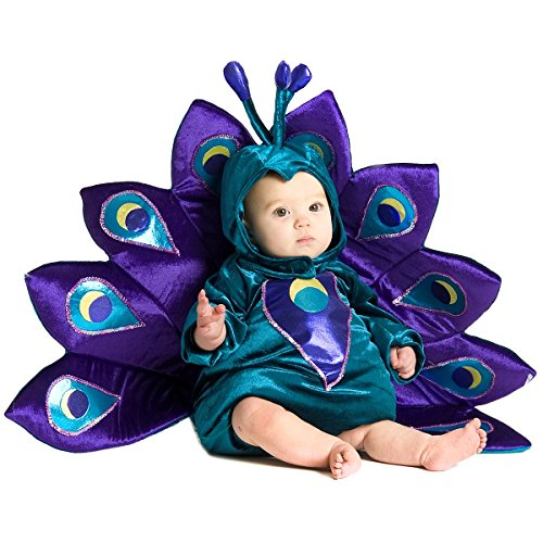 Infant Peacock Costumes (Baby Peacock Costume - Baby 6-12)