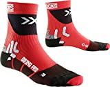 X-Socks Bike Professional, Size:45/47, Color:Red/Black