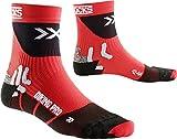 X-Socks Bike Professional, Size:35/38, Color:Red/Black