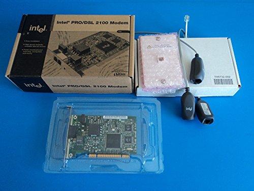 (Intel PRO/DSL 2100 Internal PCI Modem - 735858122863)