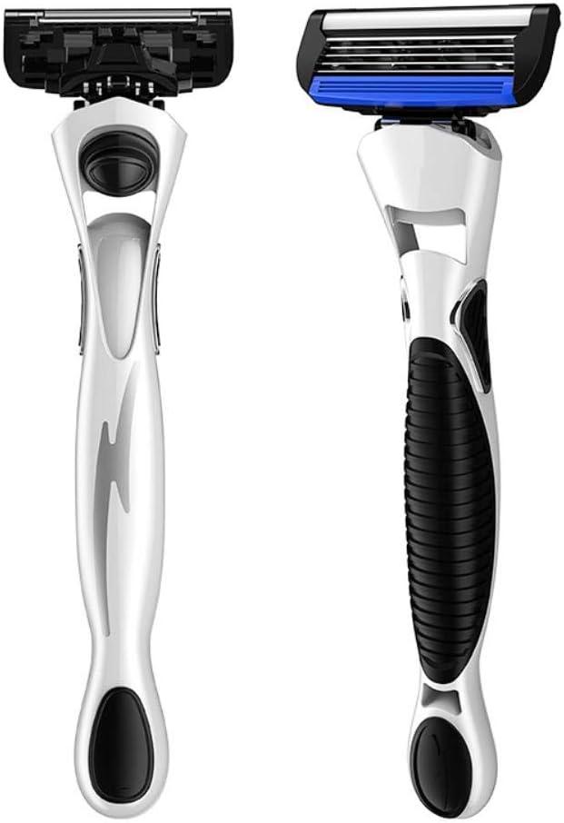 Maquinilla de afeitar juego mano, la hoja de cinco capas, nacido soporte de la cuchilla de afeitar la cabeza los hombres,VS