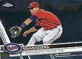 2017 Topps Chrome #190 Brian Dozier Minnesota Twins Baseball Card