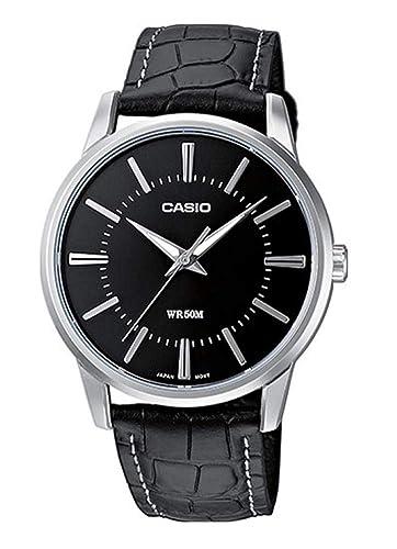 Casio Reloj Analogico para Hombre de Cuarzo con Correa en Piel MMC034: Amazon.es: Relojes