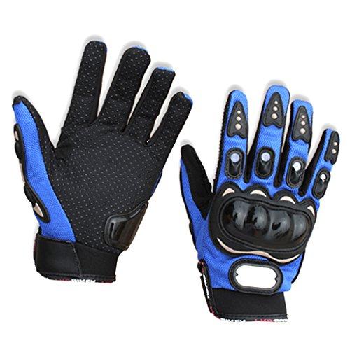 放映シマウマ宝B Baosity ウインター 防寒 防風 手袋 グローブ サイズM  アウトドア スポーツ オートバイ用 ブルー