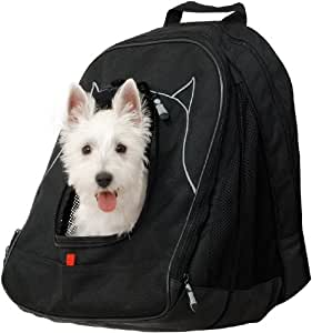 Petego Pet at Work Pet Carrier with Pet Dome Crate, Black