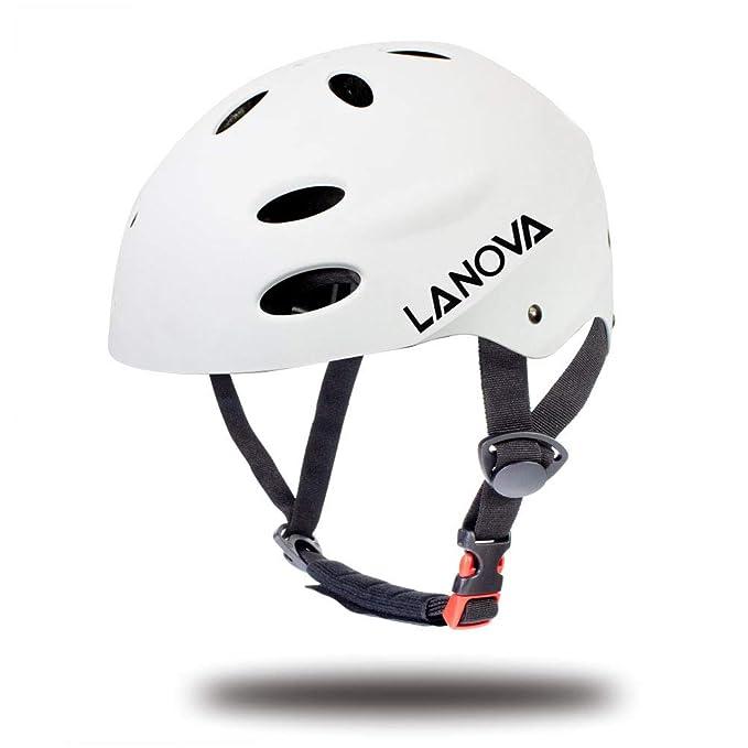 LANOVAGEAR Toddler Helmet Adjustable from Kids to Youth CPSC Certified Kids Bike Helmet for Cycling Skateboard Inline Skating Rollerblading Longboard BMX