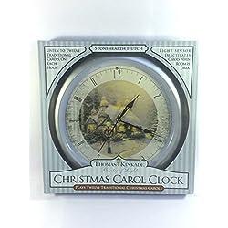 The Thomas Kinkade Spirit of Christmas Carol Clock
