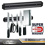 MAGNETO, 13 Inch Plastic Magnetic Knife bar, Knife Holder bar, Magnetic Storage Rack Strip, Magnetic Tool Organizer
