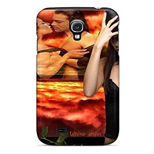 Flexible Tpu Back Case Cover For Galaxy S4 - Alone With The Thoughts