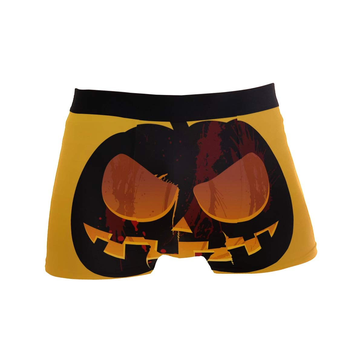 Jojogood Mens Halloween Lantern Breathable Boxer Soft Briefs Classic Underwear Shorts