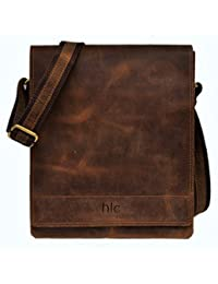 handolederco leather messenger satchel ipad tablet bag for men and women