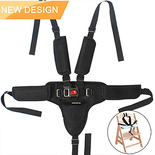 Jolik High Chair Straps Universal 5 Point Baby Seat Belt for Stroller High Chair ()