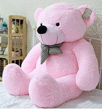 FamilyStore 3 Feet Long Standing Cute Pink Teddy Bear - 91 cm (Pink) - 91 cm (Pink)