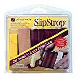 Flexcut Slipstrop, for Polishing and Deburring V-Tools and Gouges, Flexcut Gold Polishing Compound Included, (PW12)