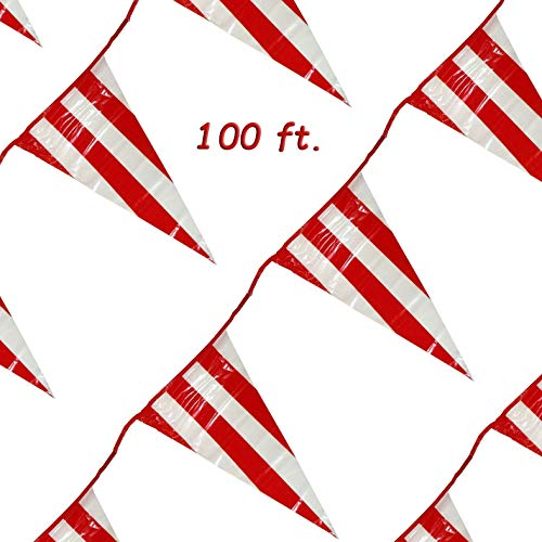 Buy carnival banner red and white